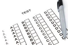 测试 免版税图库摄影