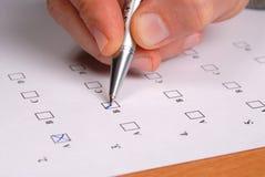 测试 免版税库存图片