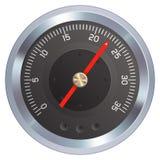 测量仪例证米