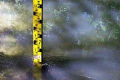 测量仪水 免版税库存照片