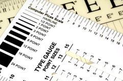 测量仪类型 库存图片