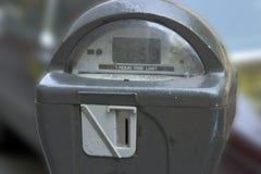 测量停车 库存照片