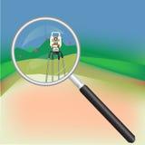 测量学和放大器 库存照片
