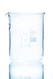 测量的温度抗性圆柱形烧杯150 ml 免版税图库摄影