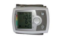 测量的血压电子设备 免版税库存图片