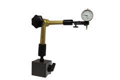 测量仪器,测微表,裁减路线 免版税图库摄影