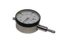 测量仪器,测微表,裁减路线 免版税库存图片
