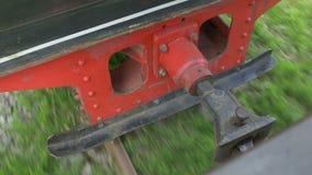 测量仪缩小的铁路 影视素材