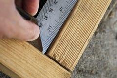 测量直角 免版税库存图片