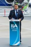 经济事务部长和能量,西格玛尔・加布里尔 免版税库存图片