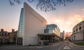 济夫大厦-利兹大学,英国 库存照片