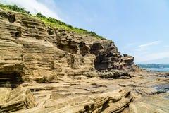 济州的海岸 免版税库存照片