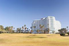 济州,韩国- 2012年11月12日:KAL旅馆看法  图库摄影