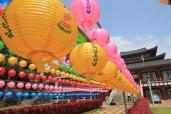 济州Yaoquansi寺庙 库存图片