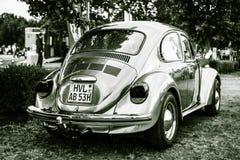经济汽车大众甲壳虫, 1973年 图库摄影