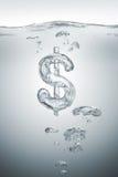 经济的泡影 免版税库存照片