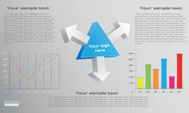 经济计划样式,图, netw 免版税图库摄影