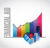 经济援助企业图标志概念 库存图片