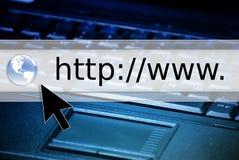 浏览器万维网 免版税库存图片