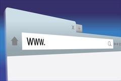浏览器 免版税库存照片