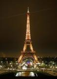 浏览埃菲尔在巴黎 库存照片