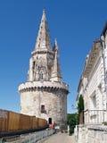 浏览de la Lanterne在拉罗谢尔,法国 免版税库存照片