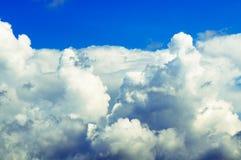 浓厚云彩 库存图片