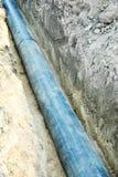 浓厚长的管道 免版税库存图片