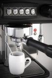 浓咖啡咖啡壶 免版税库存图片