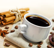 浓咖啡咖啡 库存图片