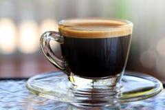 浓咖啡咖啡 免版税库存照片