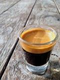 浓咖啡射击 库存照片