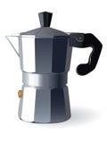 浓咖啡意大利人设备 图库摄影