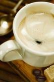 浓咖啡意大利语 库存图片