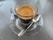浓咖啡时间 免版税库存照片