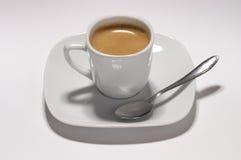 浓咖啡杯 免版税库存照片