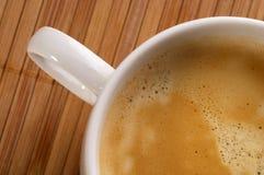 浓咖啡片段 免版税库存图片
