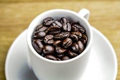 浓咖啡豆 库存图片