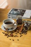 浓咖啡-储蓄图象 图库摄影