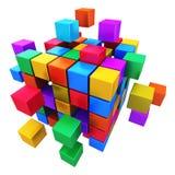 浓缩企业配合、的互联网和的通信 库存例证