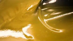 浓芳香棕色蜂蜜 股票视频