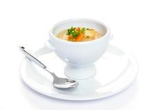 浓豌豆汤已分解 免版税图库摄影