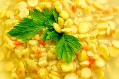 浓豌豆汤 库存图片