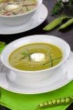 浓豌豆汤 免版税图库摄影