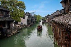 浙江嘉兴Wuzhen西山 免版税库存图片