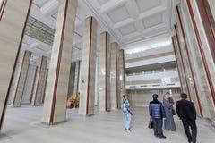 浙江菩萨学院,多孔黏土rgb壮观的教的大厦  图库摄影