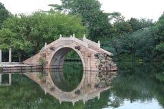 浙江wuzhen桥梁 库存图片