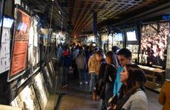 浩劫纪念博物馆的内部看法,华盛顿特区的,美国 库存图片