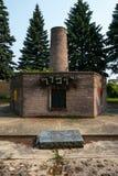 浩劫纪念工作员的公墓密执安 库存照片