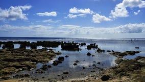 浩大的太平洋 免版税库存图片